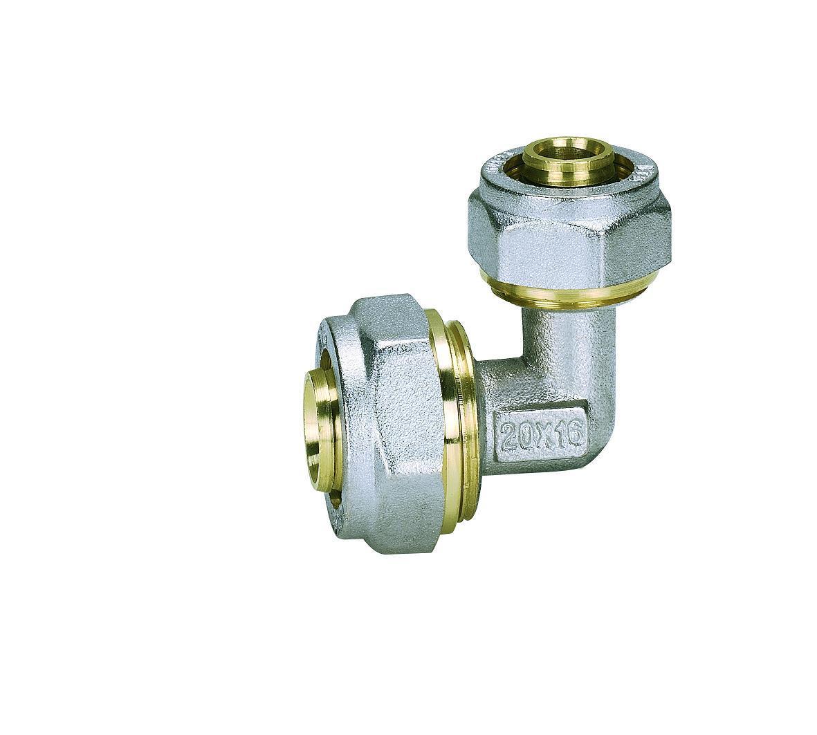 Ktm Reducing Elbow (Hz8016) of Pipe Fittings for Pert-Al-Pert Pipe, Pex-Al-Per Pipe, Aluminium Plastic Pipe