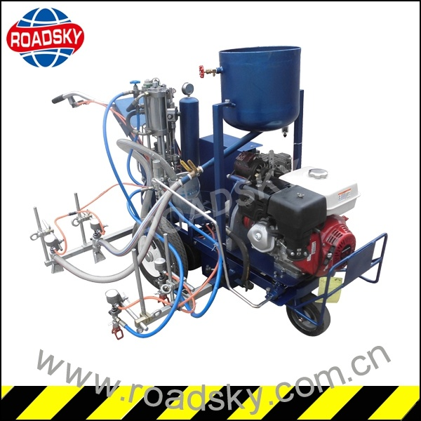 Traffic Line Cold Paint Ailress Spraying Road Marking Machine for Sale