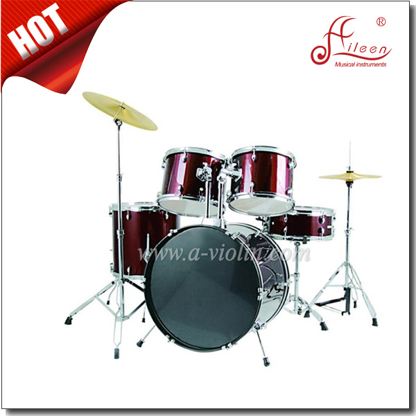 5 PC PVC Cover Jazz Drum Set for Adult