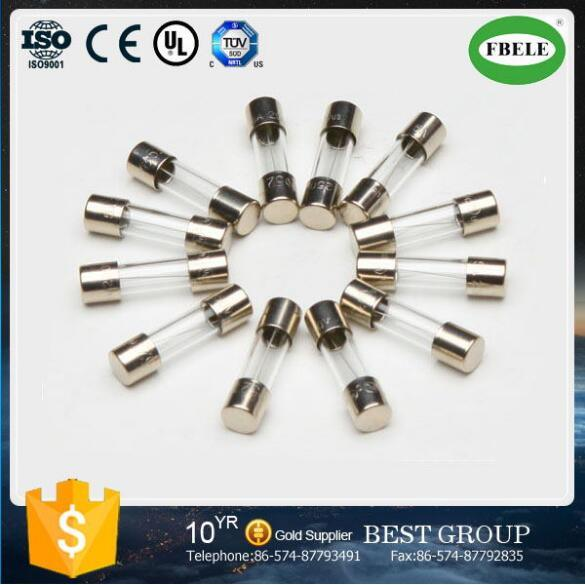 Made in China Cheap Glass Tube Fuse Current Limiting Fuse Glass Fuse Transparent Glass Tube Fuse