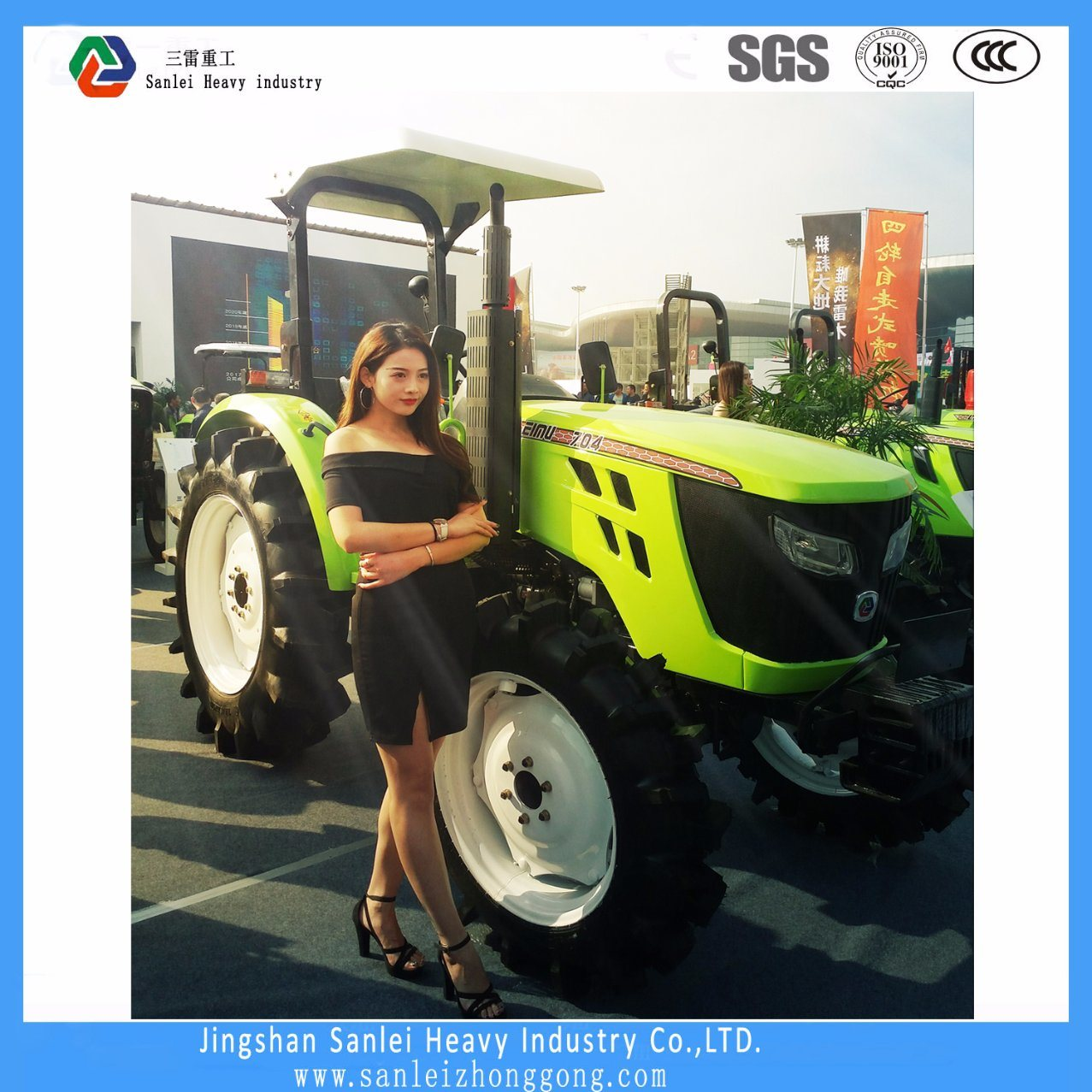 70HP Farm Tractor with 4WD