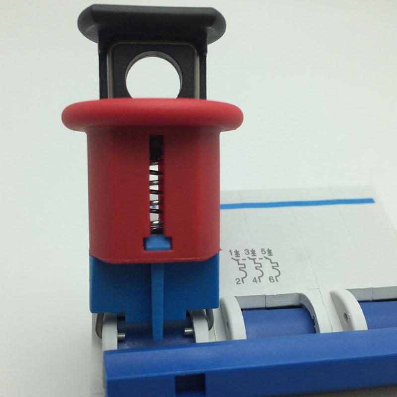 Pin in Standard Circuit Breaker Lockout