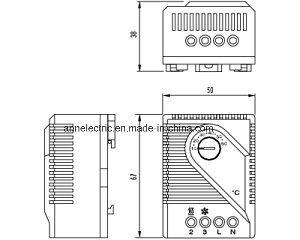 Mechanical Hygrostat Mfr 012, Thermostat