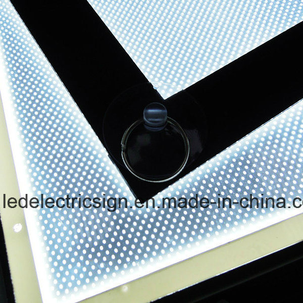 Aluminum Magnetic Frame Advertising LED Light Box for Advertising Display