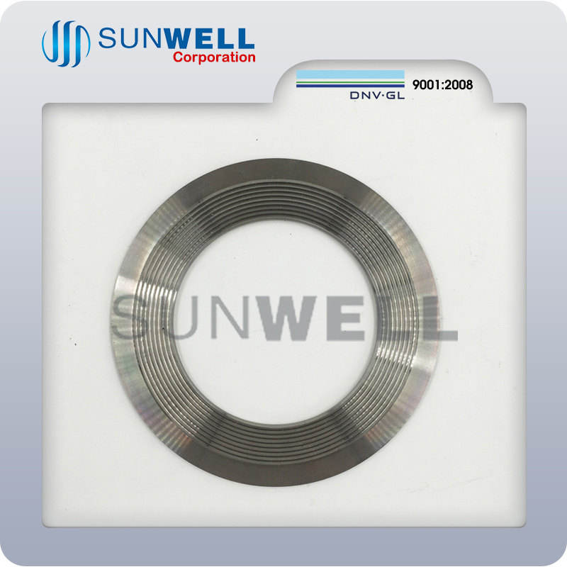 Kammprofile Gasket with Integral Outer Ring