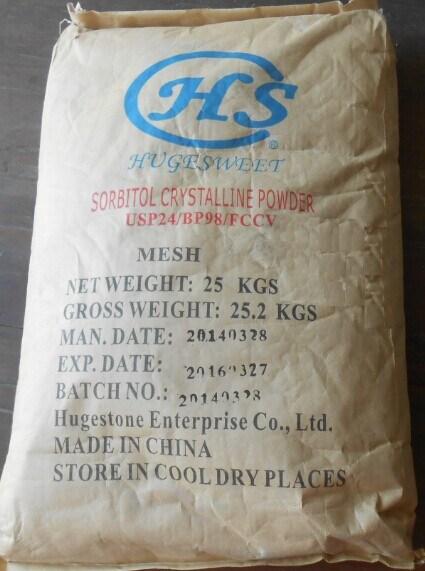 High Quality Food Grade Sweetener Sorbitol (C6H14O6) (CAS: 50-70-4)