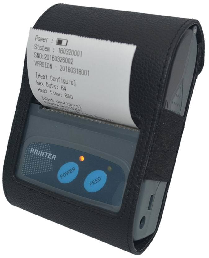 "2"" Portable Mobile Bluetooth Receipt Thermal Printer/POS Printer/Barcode Printer (SGT-B58V)"