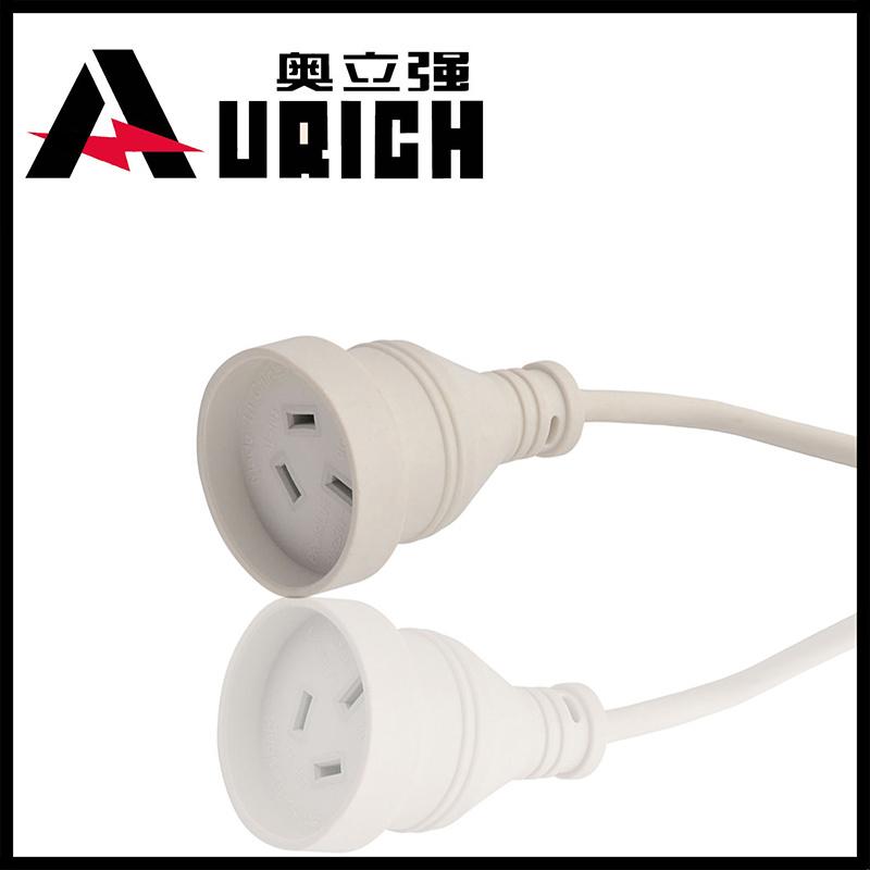 Extension Cord as Australia Three Pins AC Power Plug