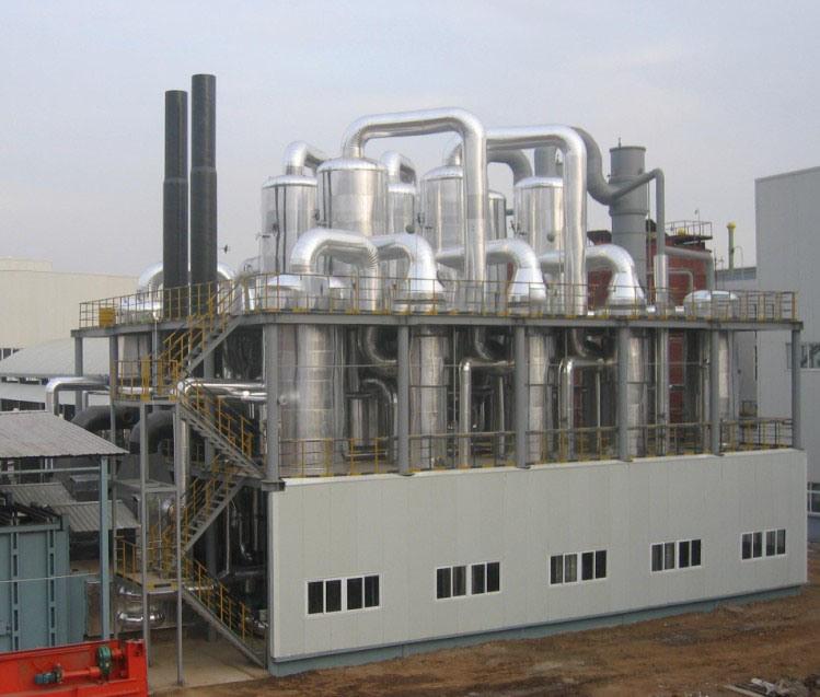 Multi Effect Falling Film Vacuum Evaporator for Effluent Evaporation System