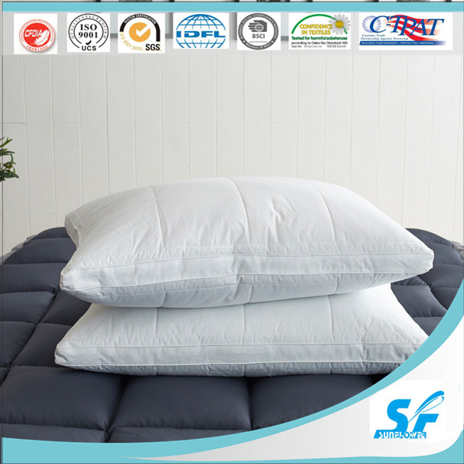Hangzhou Bedding Factory Fiber Feather Quilted Pillow Set