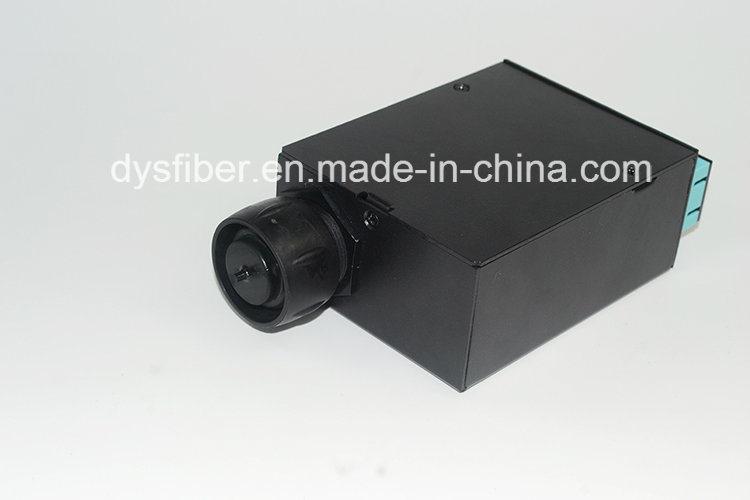 Fiber Optic MPO-12*Sc Cassette with Waterproof MPO Connector