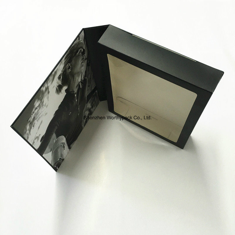 Cardboard Paper Earphone Folding Box