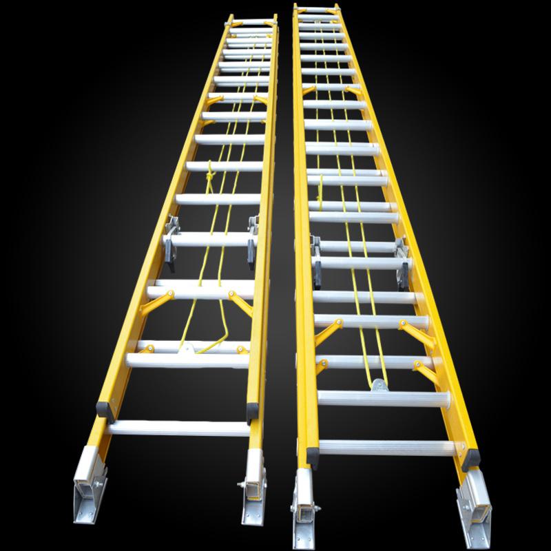 Multi-Purpose Extension Inslulated Fiberglass Rope Ladder