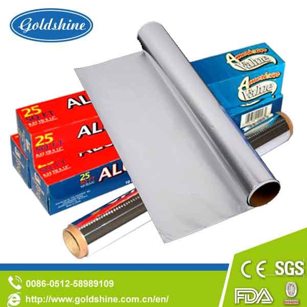 Embossed Aluminium Foil Packaging Printing with SGS Standard