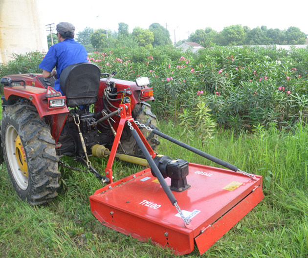 Tractor Mounted Brush Cutter : China point linkage tractor mounted rotary mower