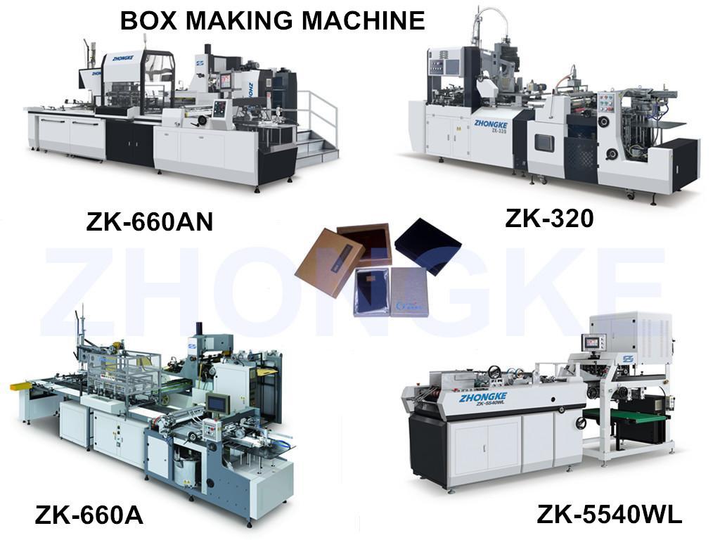 Automatic Paper Box Making Machine (ZK-660AN)