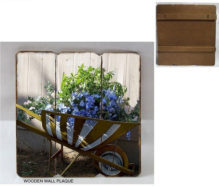Chic Wood Trim Brand Wooden Plaque Home/Love Theme Series Decoration