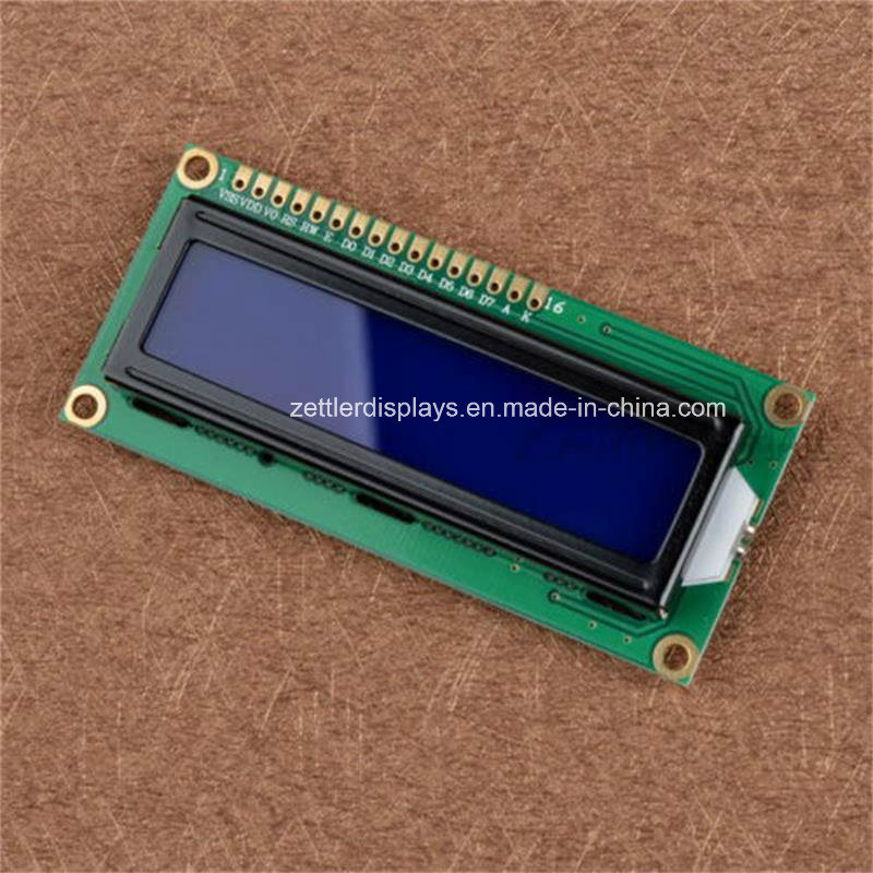 16X2 Character LCD Display Module, (ACM1602K) Series