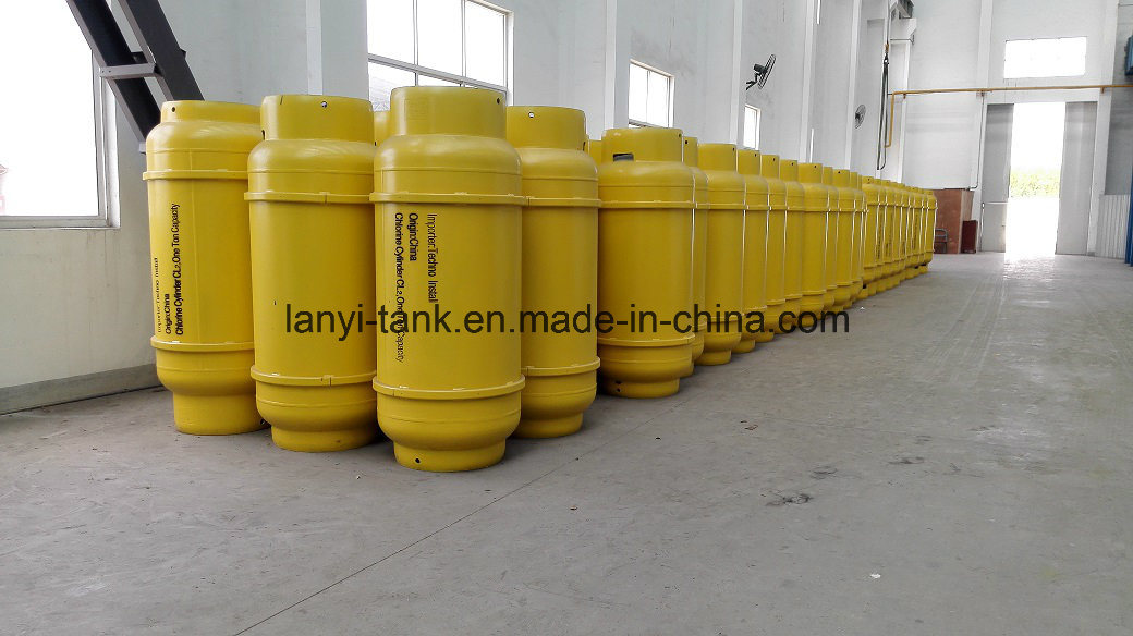 400L, 840L and 1000L Medium Pressure Welding Refillable Gas Cylinder for Liquified Chlorine