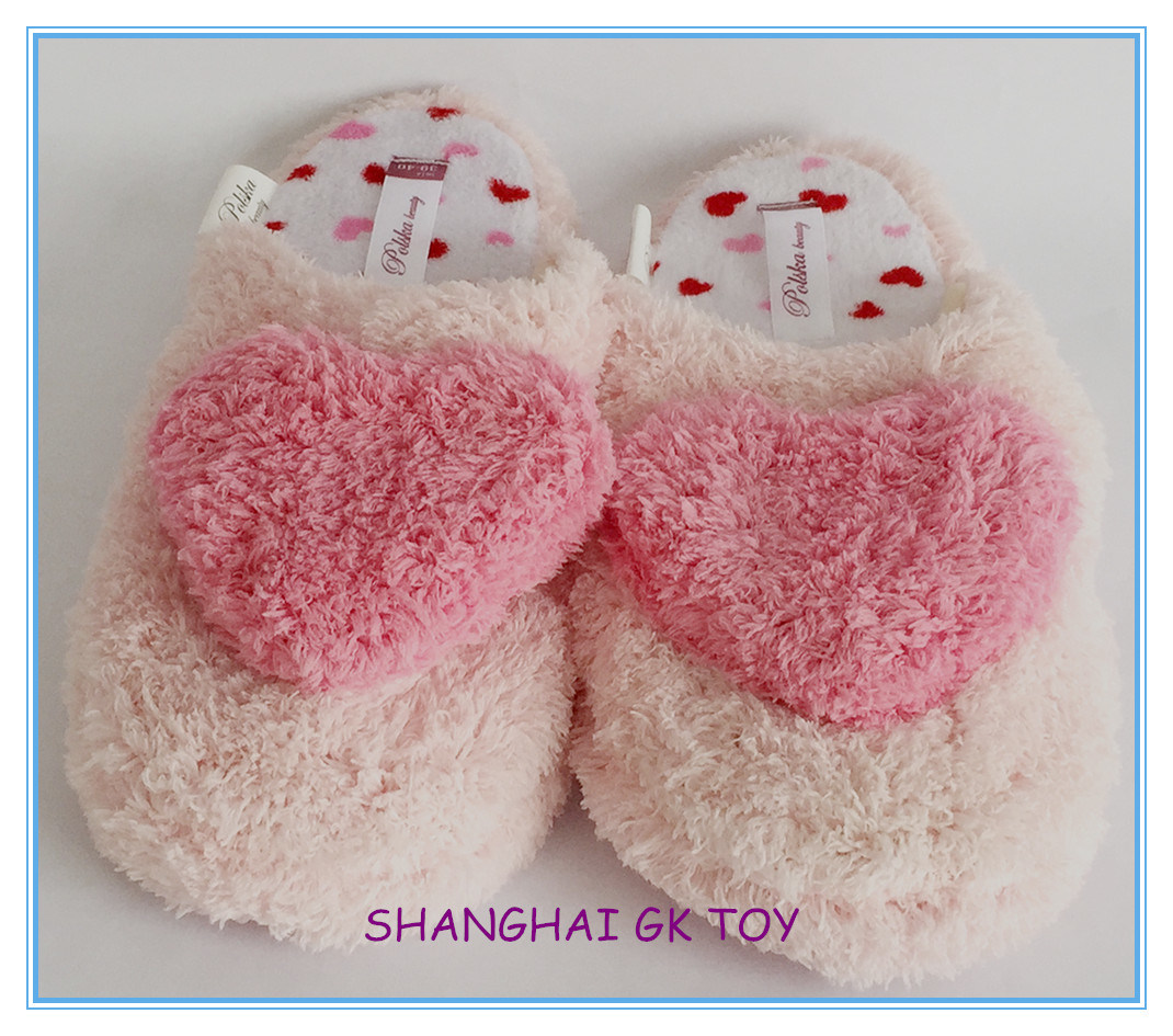 Pink Lady′s Slippers Indoor Slippers
