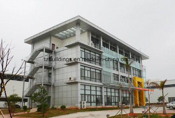 Prefab Steel Frame Modern Office Building