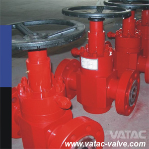 Wellhead Control 2000psi~20000psi API 6A Gate Valve with Flange