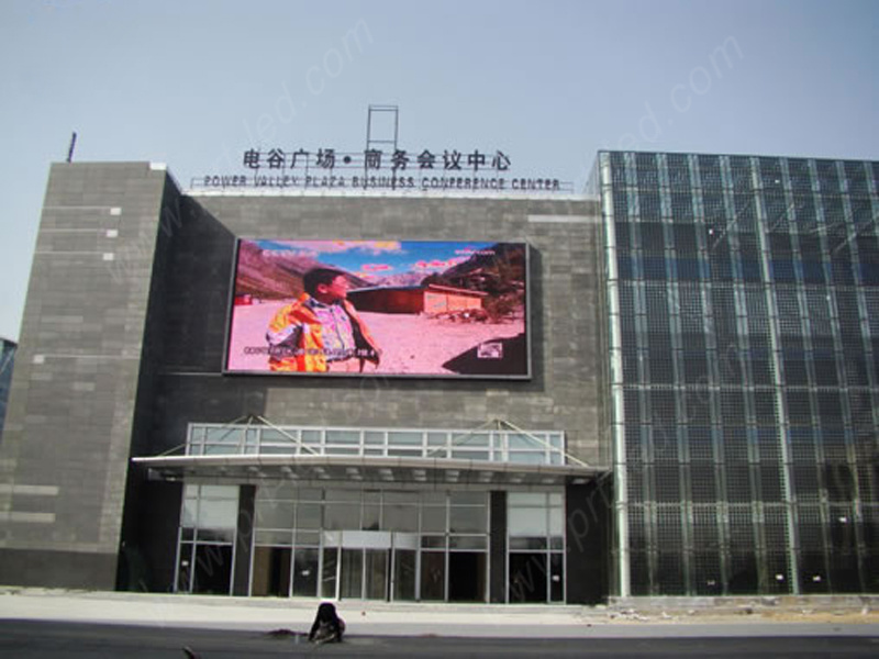 High Brightness P10 LED Advertising Board with Good Waterproof