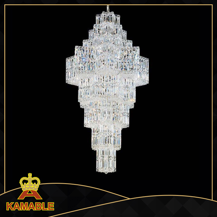 Customize Hotel Decoration Lighting Crystal Chandelier (KA702)