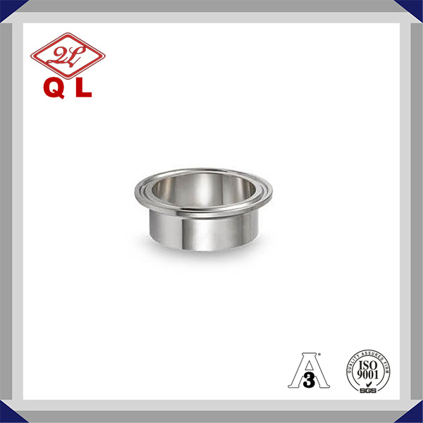 3A 304/316L Sanitary Stainless Steel Tc Tri Clamp Ferrule 14wmp