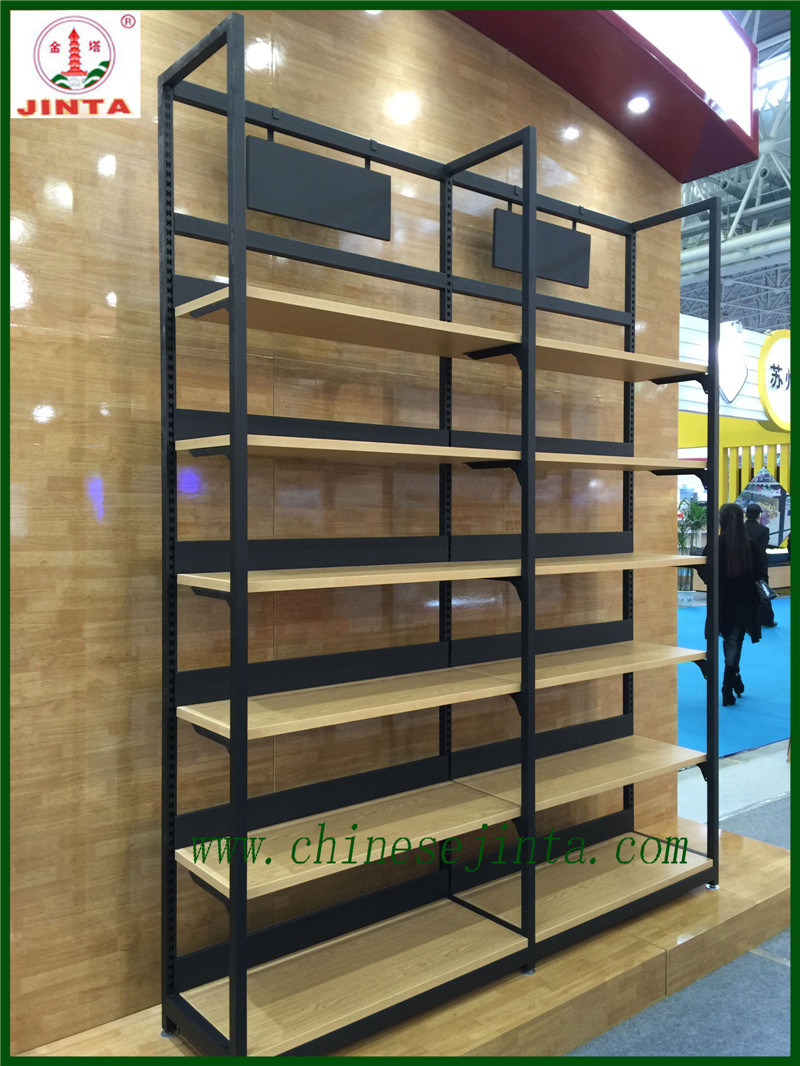 Factory Direct Wholesale Single Sided Wood Display Stand (JT-A30)