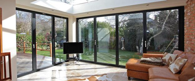 Aluminum Folding Bifold Door for House