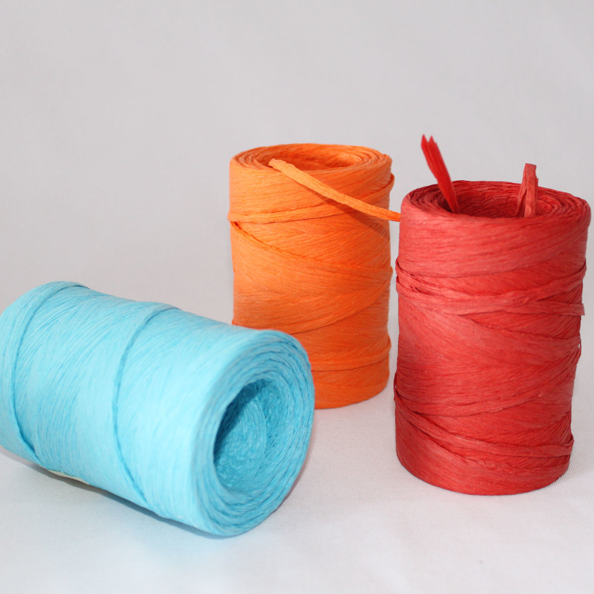 Colored Natural Raffia Roll for Wrapping