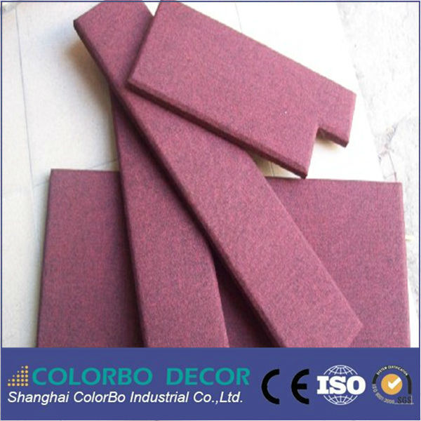 Eco-Friendly Fire Resistance Fabric Sound Insulation Wall Panels