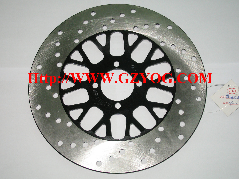 Yog Motorcycle Spare Parts Brake Disc Plate Honda YAMAHA Suzuki Bajaj Tvs Keeway Shineray Biz Italika off Road Akt Qingqi Xy Haojin Pad