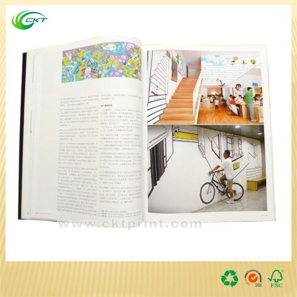A4 Cook Colorful Offset Softcover Cactalogue Magazine Book Printing (CKT-BK-1142)