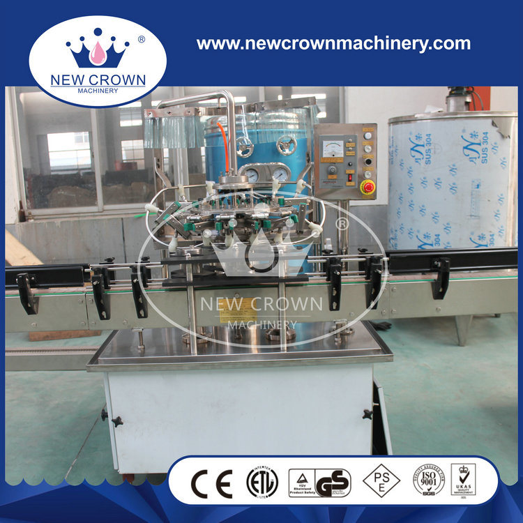 Economic Linear Type Carbonated Drink Filling Machine