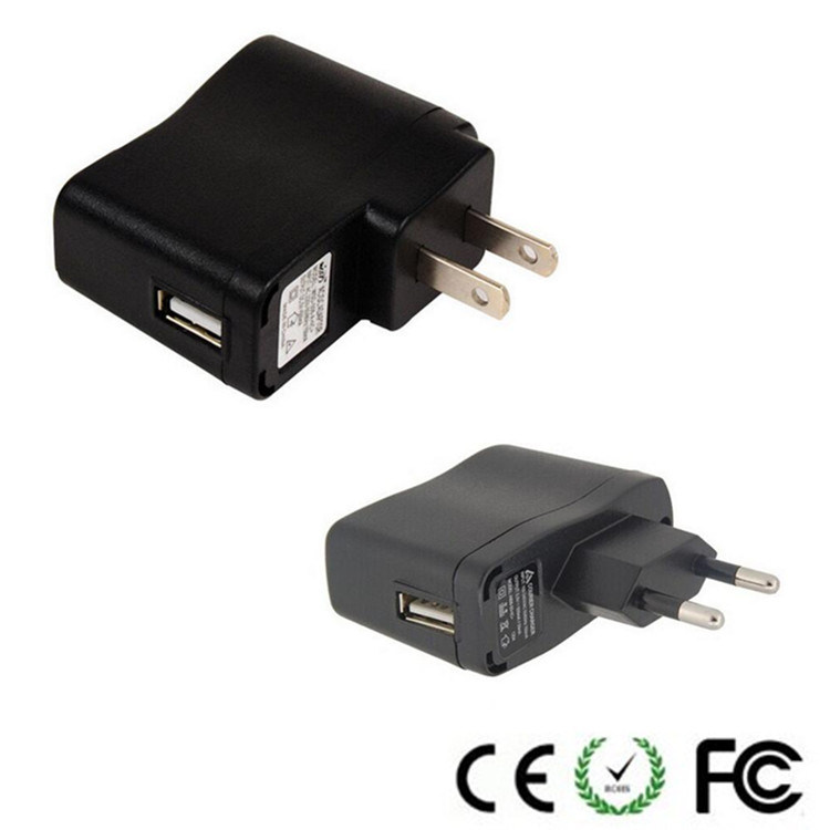 USB Power Adapter/Charger (US/EU plug) for Mobile Phone&MP3