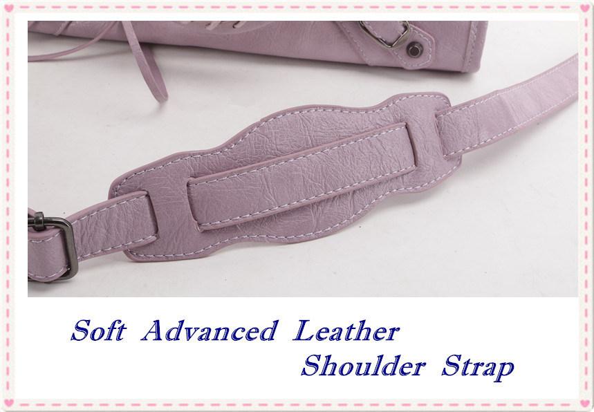 GB9023 Fashion Bag Handbags Lady Bag Famous Design Rivet Tassel