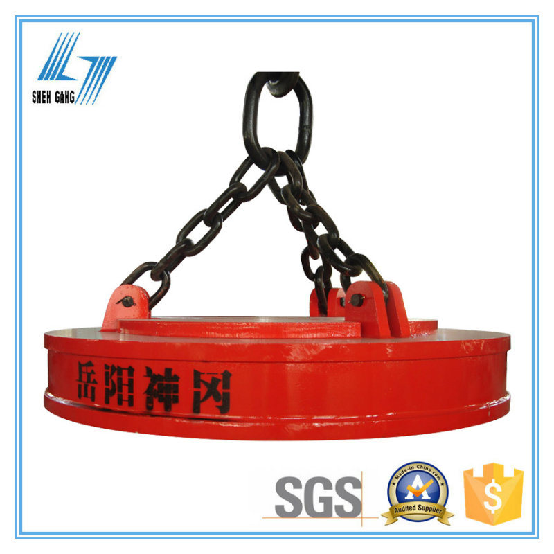 China Leading Manufacturer of Electro Crane Lifting Magnet for Scraps