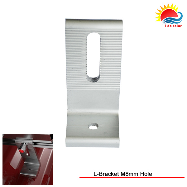 New Design Solar Panel Mounting L-Bracket M8mm Hole (MD304-0002)