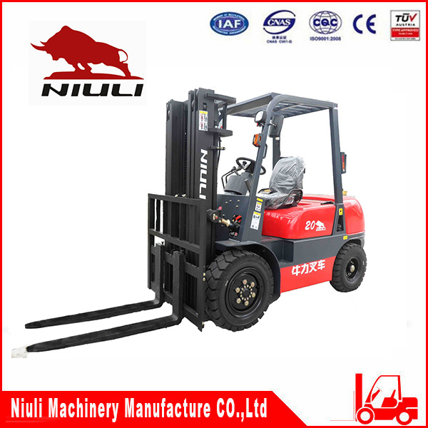 Niuli Cpcd 2ton-2.5ton Diesel Forklift Truck with Ce