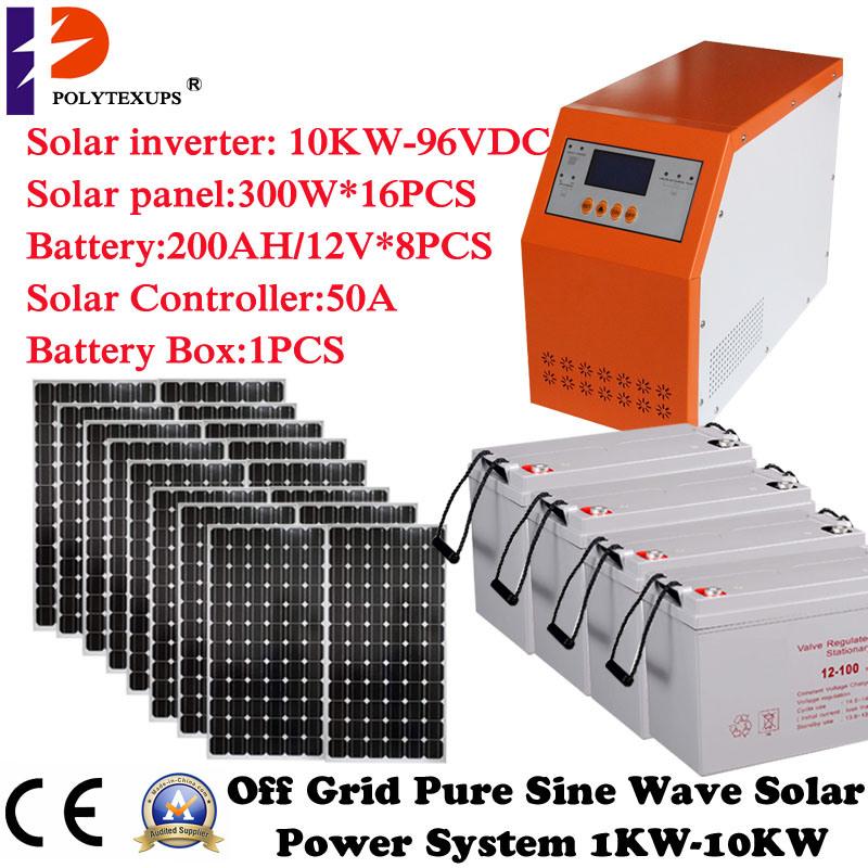 2000W/24VDC off Grid Hybrid Power System Home Used PV Inverter