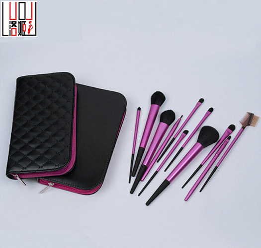 11PCS High Quality Light Purple Matte Makeup Brush