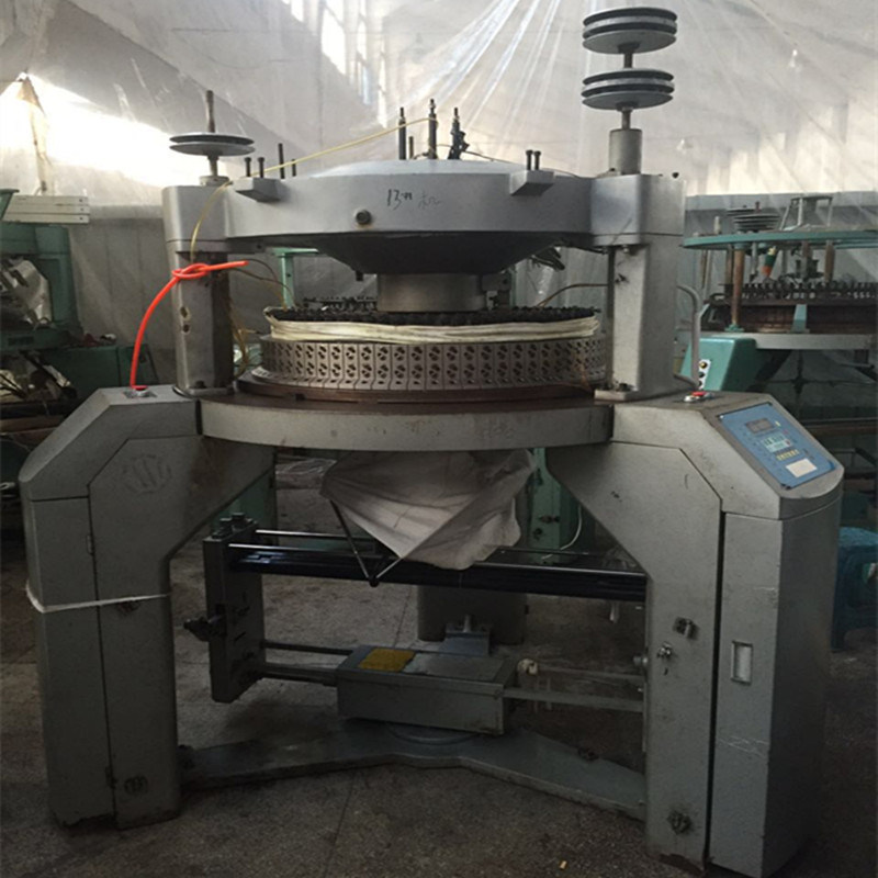 Second-Hand Single Jersey Knitting Machine on Sale