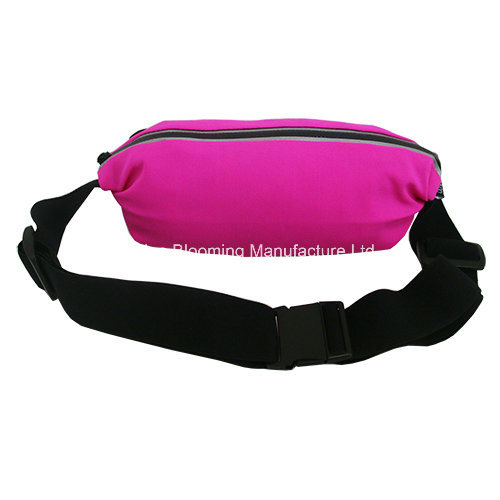 Neoprene Jogging Belt Fanny Bum Sport Running Hip Waist Pack Bag