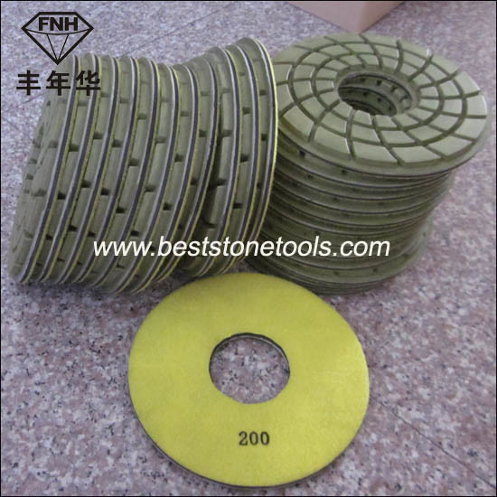 "Cr-24 Diamond Concrete Floor Polishing Pad (7""/180mm)"