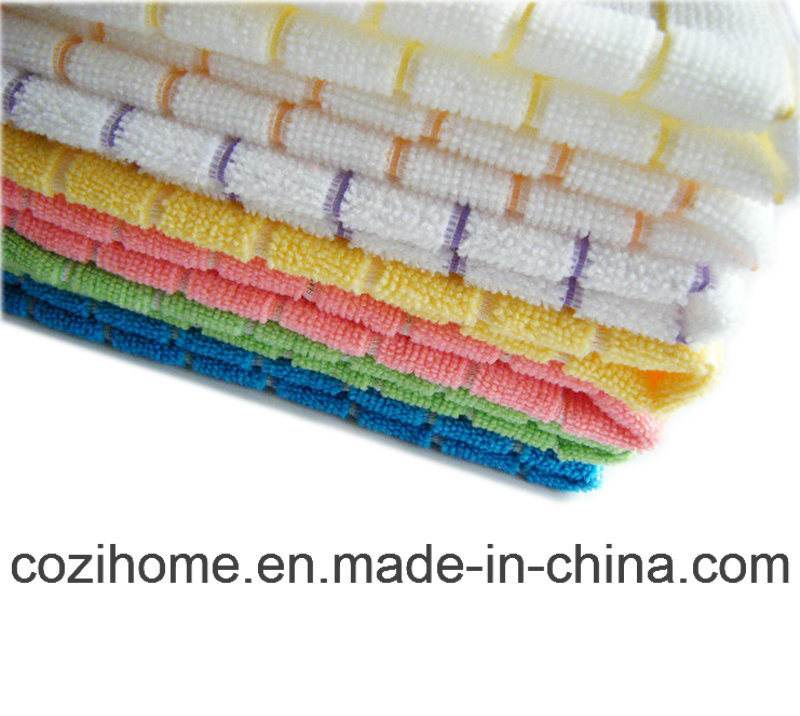 High Quality Microfiber Towel Microfiber Cloth for Easy Cleaning (4010)