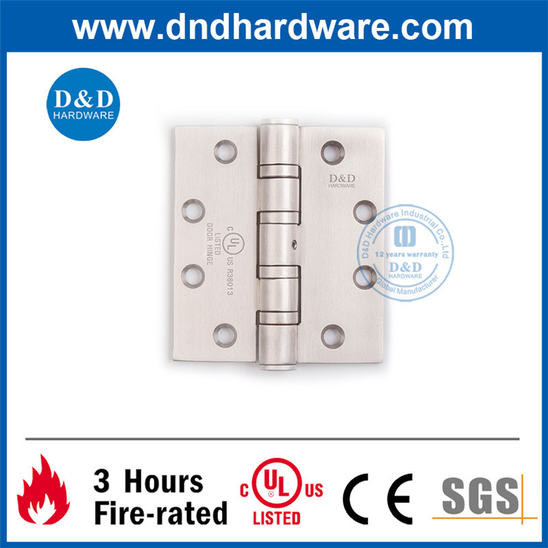 Stainless Steel 304 UL Door Hinge 4.5X4.0X4.6-4bb