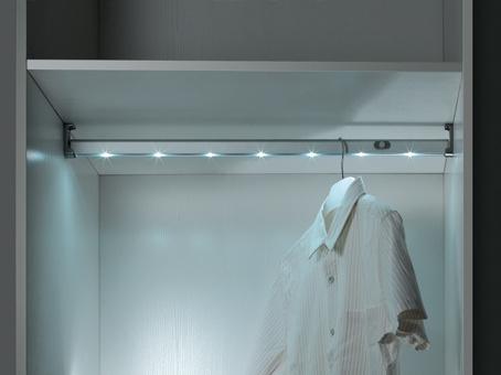 Wardrobe Aluminum Garment LED Clothes Hanger