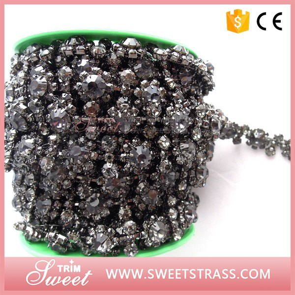 Sparkle Fancy Crystal Rhinestone Chain for Sandals